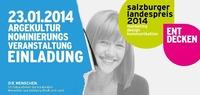 Nominierungsveranstaltung für den Salzburger Landespreises 2014