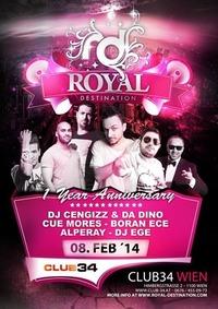 1 Year  Royal Destination@Club 34