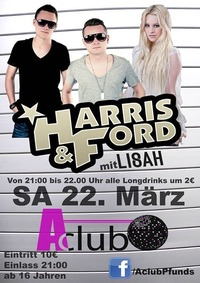Harris & Ford im Aclub Pfunds@AClub - Pfunds