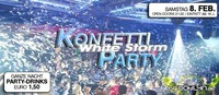 Konfetti Party White Storm@Brooklyn