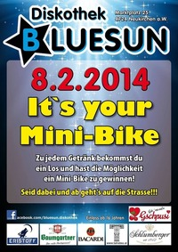 Pocket Bike Verlosung