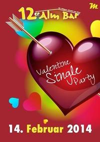 Valentine Single Party@12er Alm Bar