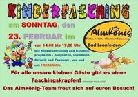 Kinderfasching@Almkönig