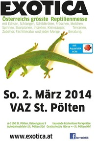 Exotica Reptilienmesse