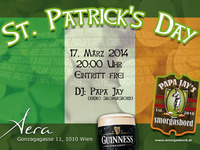 St. Patrick's Day Party@AERA