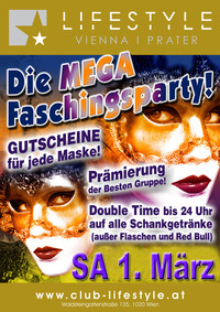 Mega Faschingsparty