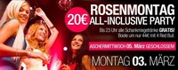 Rosenmontag All Inclusive Party@Baby'O