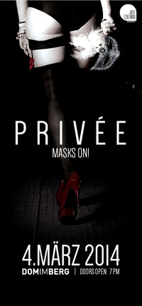 PRIVÉE - Put your masks on!