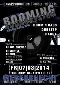 Booming Soundsystem@Weberknecht