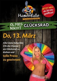 Oldies Night Glücksrad@Hasenfalle
