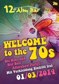 Welcome to the 70s@12er Alm Bar