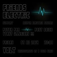 Friend electric - deeper electronic sound