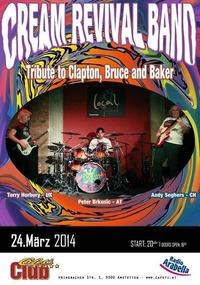 Cream Revival Band@Cafeti Club
