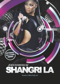 Shangri La - All You Can Drink@Ride Club