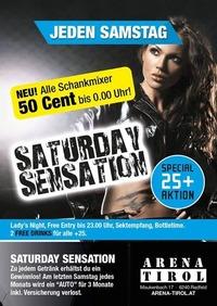Saturday Sensation - Gewinne Den Arena-dacia
