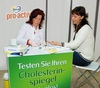 Testen Sie Ihren Cholesterinspiegel kostenlos in der SCW!