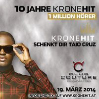 10 Jahre Kronehit feat. Taio Cruz@Club Couture
