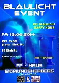 Blaulicht - Event 2014