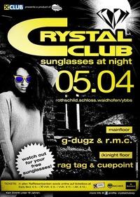 Crystal Club - Sunglasses at Night@Crystal Club