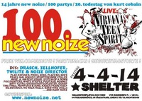 New Noize 100 +++ Live: Nirvana Teen Spirit@Shelter
