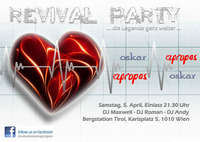 Revival Party Oskar & Apropos@Bergstation
