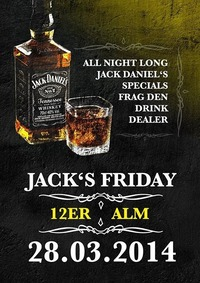 Jacks Friday@12er Alm Bar