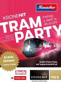 Die Kronehit Tram Party in Wien