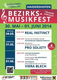 Bezirksmusikfest Haidershofen@Haidershofen Ortszentrum