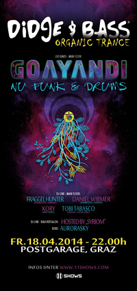 Didge & Bass - Organic Trance mit Goayandi, Nufunk  drums uvm.