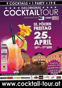 4. Cocktail-Tour in St. Pölten@