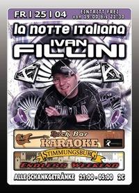 La Notte Italiana mit Dj Ivan Fillini@Excalibur