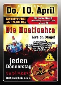 Die Huatfoahra Live@Excalibur