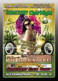 Somersby Club Night@Excalibur