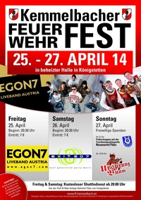 Kemmelbacher Feuerwehrfest@Freiwillige Feuerwehr Kemmelbach