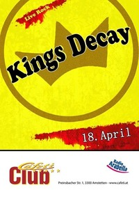 Kings Decay live@Cafeti Club