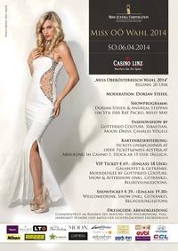 Miss OÖ Wahl 2014