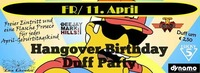 Hangover Birthday Duff Party@Lifestyle