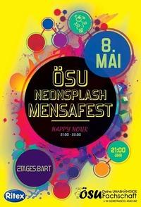 ÖSU Mensafest - Neonsplashparty Vol. 5