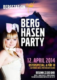 Berghasenparty@Bergstation