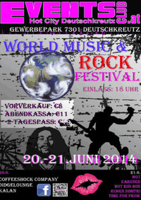 World Musik & Rock Fetival@Eventsclub HotCity