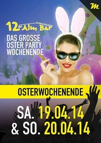 Happy Easter Party@12er Alm Bar