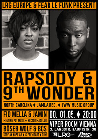 Rapsody & 9th Wonder@Viper Room