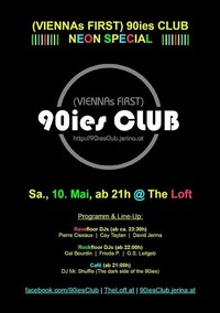 90ies Club: Neon Special@Viennas First 90ies Club