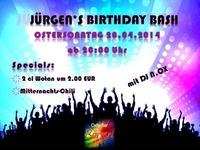 Jürgens Birthday Bash