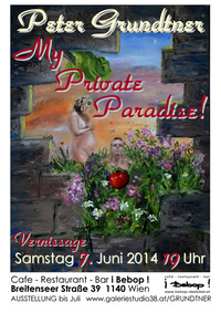 Peter Grundtner - My Private Paradise!@bebop - das lokal