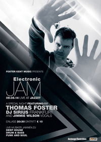 Electronic Jam - Thomas Foster feat. Jimmie Wilson