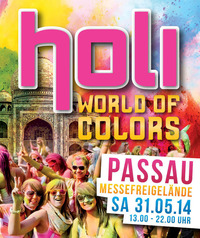 Holi - World of Colors Passau