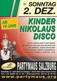 KINDER Nikolaus Disco