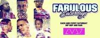 Fabulous Saturdays - 100% Hip Hop And R&B@LVL7