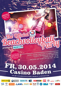 The official Ö3 Beachvolleyball Party presented by spark7@Casino Baden